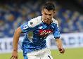 Lozano non sbaglia: il Napoli si riporta in vantaggio, 1-2!