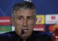 """Barcellona, Setien: """"Avrei voluto affrontare il Napoli con i nostri tifosi, un aspetto potrebbe avvantaggiare gli azzurri"""""""