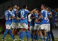 Rileggi la DIRETTA - Napoli-Udinese 5-1 (28' Zielinski, 31' Fabian, 41' Okaka, 56' Lozano, 65' Di Lorenzo, 90' Insigne)