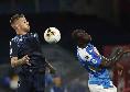 Lazio, da anti-Juve a... gufo: tifa contro Napoli e Roma per la Champions