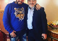 """Diego Maradona jr, messaggio commovente per il padre: """"Accanto a te mi sentivo invincibile"""""""