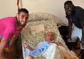 Il Mattino - Koulibaly e Ghoulam, gesto da brividi: visita a sorpresa a un tifoso del Napoli gravemente malato prima del decesso
