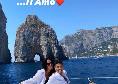 Vacanze a Capri per Faraoni: l'esterno con moglie e figli si gode l'isola azzurra [FOTO]