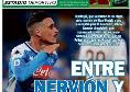 """La prima pagina di Estadio Deportivo: """"Callejon tra Betis e Siviglia"""" [FOTO]"""