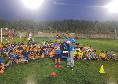 Torneo di calcio in onore di Demme a Crotone: il mediano azzurro manda le sue maglie, regali anche per lui [FOTO]