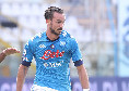 Parma-Napoli, doppio cambio per Gattuso: fuori Fabian e Lozano