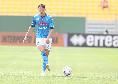 Parma-Napoli, altro doppio cambio per Gattuso: fuori Zielinski e Mertens, debutto per Petagna