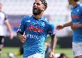 Insigne come Hamsik, l'attaccante azzurro a segno in tre esordi stagionali consecutivi