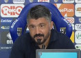 """Gattuso in conferenza: """"Gara cambiata con Osimhen? Troppo facile con lui... Inseguiamo i nostri principi. Troppi errori nel finale, dobbiamo migliorare"""""""