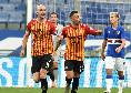 Sampdoria-Benevento 2-3, clamorosa vittoria in rimonta dei sanniti