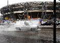 Sky - Allerta meteo alle 18 a Napoli: condizioni terreno di gioco da tenere sotto controllo. Novità in attacco per Gattuso