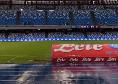 Napoli, fitta pioggia sul San Paolo a due ore dalla gara col Genoa [VIDEO]