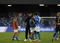 Nel Napoli preoccupa la positività di Behrami: è uscito dal campo abbracciato a Gattuso