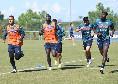 Castel Volturno, il report dell'allenamento del Napoli: si lavora già coi palloni dell'Europa League, seduta tecnico tattica per gli azzurri