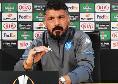 """Gattuso in conferenza: """"Presa bella mazzata, non meritavamo la sconfitta. Strada europea in salita, ma ora testa al Benevento"""""""