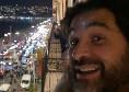 Adani e la protesta sul lungomare di Napoli contro il coprifuoco: Libertà [VIDEO]