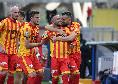"""Benevento, Insigne all'intervallo: """"Sono molto emozionato, ma peccato aver trovato il mio primo gol contro mio fratello"""""""