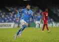 Il Napoli la rilbalta! Azione show di Politano, riceve Petagna che segna l'1-2: primo gol in azzurro per il centravanti