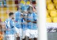 """Il commento della SSC Napoli: """"Insigne dissolve le streghe, incantesimo col sinistro delizioso! Petagna armata pesante"""""""