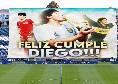 'DIE6O', l'accoglienza da brividi tra cori e fuochi d'artificio a Maradona nel giorno del suo compleanno [VIDEO]
