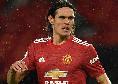 Sky - Cavani rinnova con il Manchester United , contratto esteso per un anno