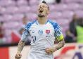 Slovacchia, Hamsik esulta: Vittoria incredibile, pochi se l'aspettavano