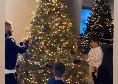 E' già Natale a casa Insigne, Lorenzo fa l'albero con la moglie e i figli [VIDEO]