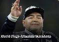 """Dall'Argentina, Clarin: """"E' morto Maradona, fatale un attacco respiratorio"""""""