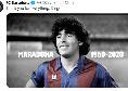 """Il Barcellona saluta Maradona: """"Grazie di tutto, Diego"""" [FOTO]"""