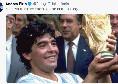 """Juventus, Pirlo saluta Maradona: """"Se ne va il dio del calcio.. grazie di tutto Diego"""" [FOTO]"""