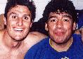 """Il saluto di Zanetti a Maradona: """"Grazie per tutto quello che ci hai dato"""""""