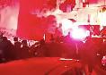 Murales Maradona, coro, fumogeni e radunata di tifosi ai Quartieri Spagnoli [VIDEO]
