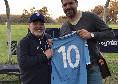 """Sosa rammaricato: """"Diego mi chiese di regalargli la mia maglia del Napoli: sbagliai a non restituirgli quella 10"""""""