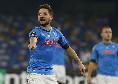 Napoli-Fiorentina, il 'Bravo!' di Mertens a Lozano al momento del cambio