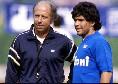 """Maradona, il ricordo da brividi di Ottavio Bianchi: """"Vederlo giocare era come ascoltare Mozart: ho visto capolavori quotidiani. Non potevo esternarlo in pubblico, ma dentro di me applaudivo ad ogni prodezza"""""""