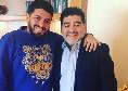"""Diego Armando Maradona jr si racconta: """"Così ho appreso della morte di papà. Si sentiva in colpa con me, ma l'ho perdonato 5 anni fa"""""""