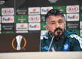 """Gattuso in conferenza: """"Per vincere domani abbiamo bisogno di un grande Napoli, siamo consapevoli che domani non sarà facile! All'andata..."""""""
