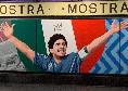 """""""Mostra-Stadio Maradona"""", ecco tutti i murales dedicati alla storia del Napoli! Presente Osimhen, ADL: """"Complimenti, splendida iniziativa artistica!"""" [FOTOGALLERY]"""