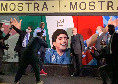 """Mostra Stadio Maradona, De Laurentiis: """"Bella iniziativa, il preludio ad una partenza verso traguardi inimmaginabili"""""""