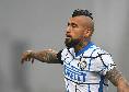Inter, allenamento in vista del Napoli: Perisic e Vidal ancora a parte