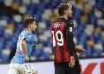 Milan, Theo Hernandez ko! Il terzino può recuperare già contro il Napoli