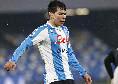 Lampo di Lozano, Napoli in vantaggio sul Verona dopo dieci secondi!