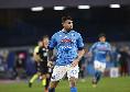 Ultimo cambio per il Napoli: scampolo di partita anche per Petagna