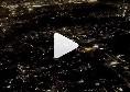 Diletta Leotta a Napoli per la sfida alla Fiorentina su DAZN, panorama mozzafiato dall'aereo! [VIDEO]