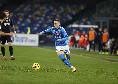 Napoli-Fiorentina 4-0, giocata individuale di Zielinski ed arriva il poker degli azzurri