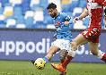 Napoli-Fiorentina, rigore netto su Insigne! Chiffi non lo assegna ed addirittura ammonisce il capitano per simulazione