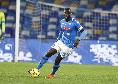 """Koulibaly a Sky: """"Con la Juve non è una partita come le altre, faremo di tutto per vincere. Aumentiamo la mentalità come vuole il mister"""""""