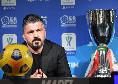 """Gattuso in conferenza: """"Campo non all'altezza. Siamo stati sfortunati, ma la Juve ha fatto qualcosa in più. Insigne? E' colpa mia!I rigori li sbagliava anche Maradona"""""""