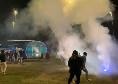 Supercoppa, il Napoli è arrivato al Mapei Stadium: i tifosi intonano 'Un giorno all'improvviso' [VIDEO]