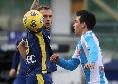 """Hellas Verona, Dimarco: """"Chiedo scusa per l'errore sul goal del Napoli, ma che reazione da parte nostra!"""""""